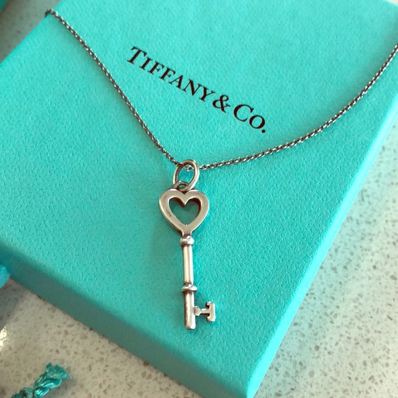 51b98c13e Tiffany & Co. Jewelry | Tiffany Co Heart Key Necklace | Poshmark